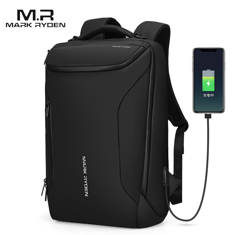 Mark Ryden 2019 New Anti-Thief Fashion Men Backpack Multifunctional Waterproof 15.6 Inch Laptop Bag Man USB Travel Charging Bag