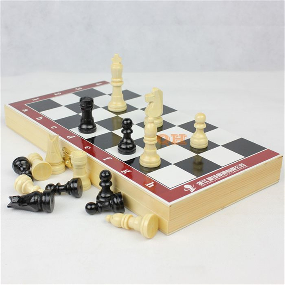 2017 High Quality Wooden International Chess Set Chess ...