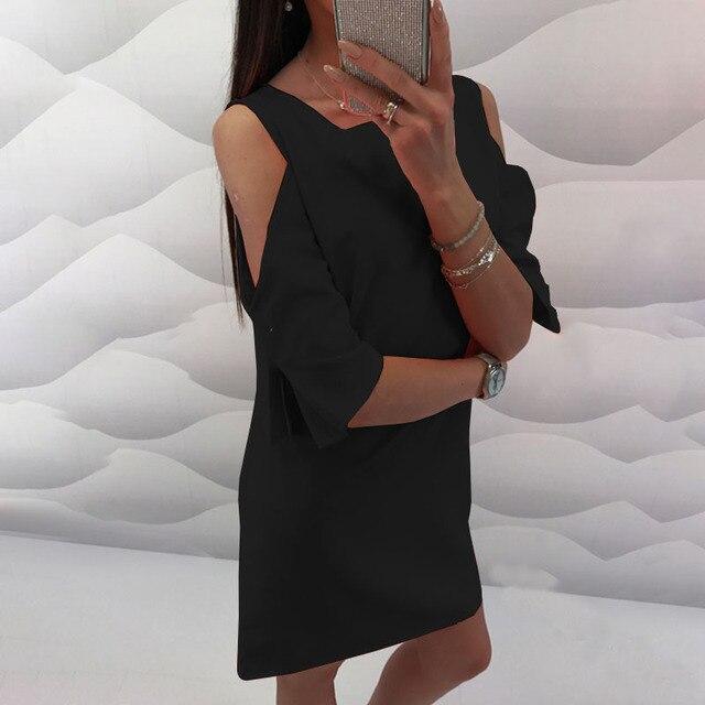 Chiffon Neon Dress Women...