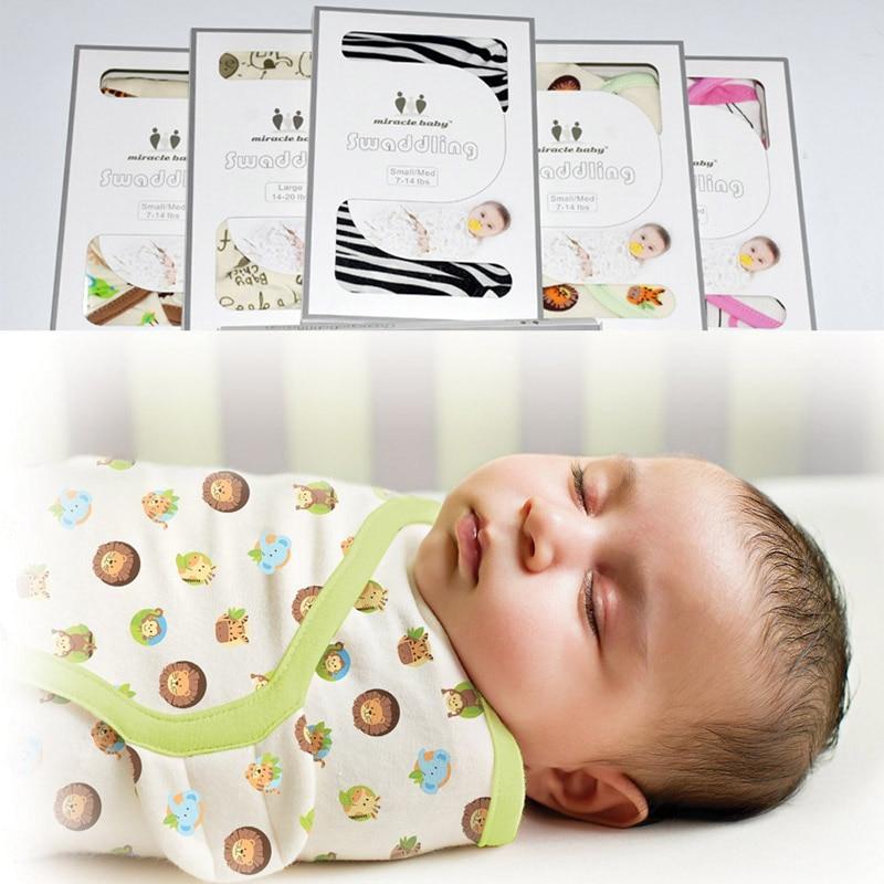 100% Katoenen Deken Voor Pasgeborenen Zomer Envelop Wrap Parisarc - Beddegoed - Foto 2