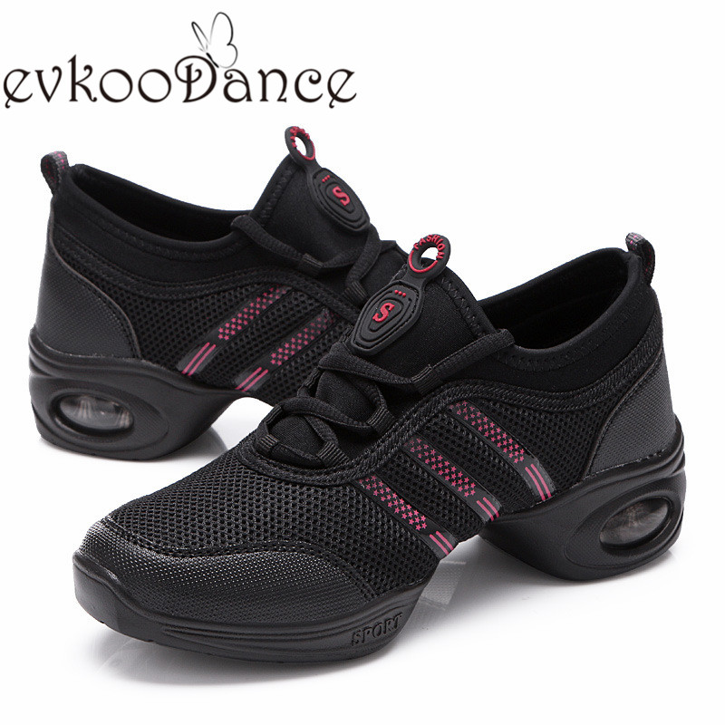 US7.5 size Women Dance Sneakers EVA soft outsole comfortable flexiable Dance Sport Shoes for women J 001