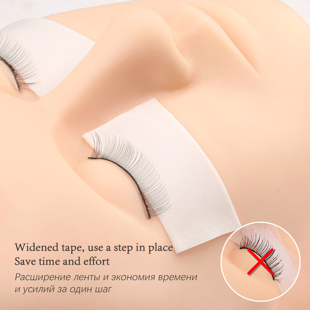 4.5m/Roll Foam Sponge lash Patch Tape Lint Free Eye Pads Under Patches Eyelash Extension Supply Eyelash Extension Tape 2