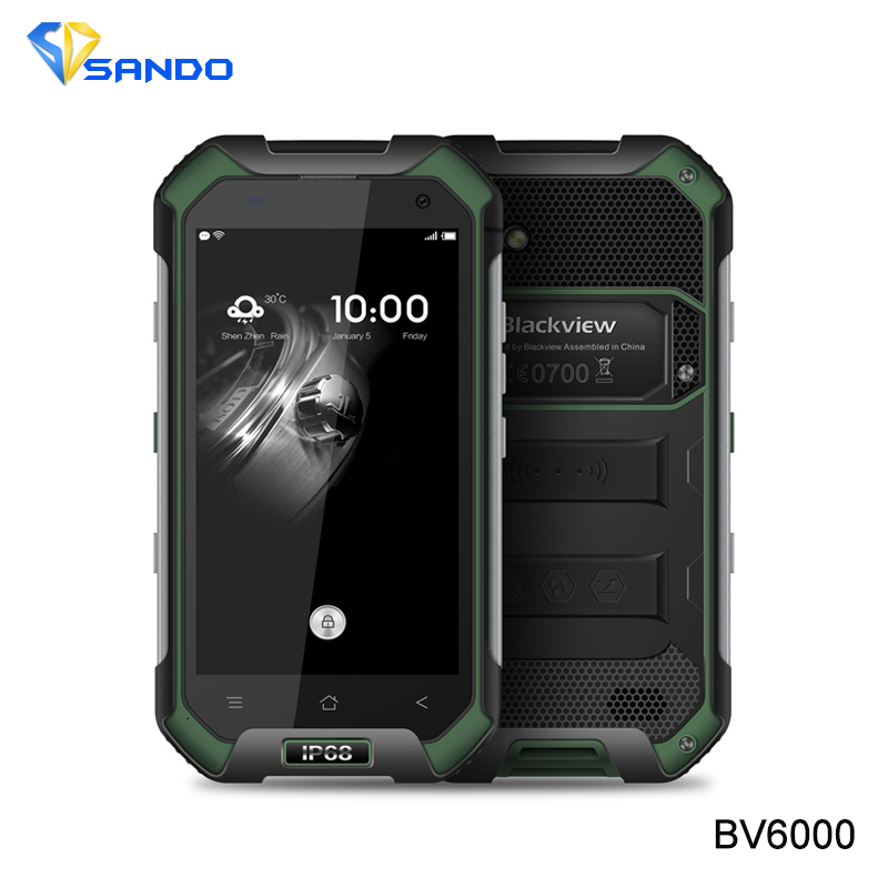 Original Blackview BV G LTE Waterproof MTK  HD Octa Core Android