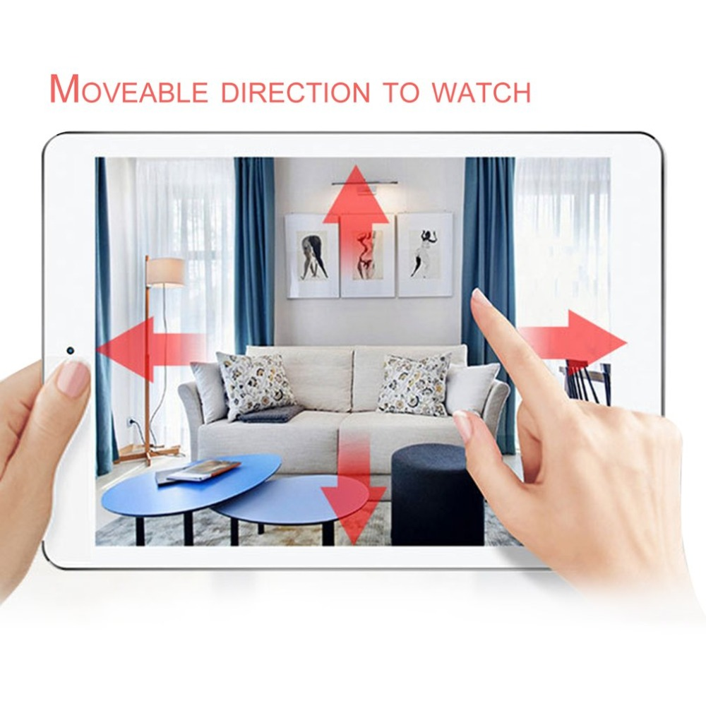 Wireless Wifi IP Security Camera 1080P HD Remote Control Indoor Home Surveillance System Monitor Support Night Vision