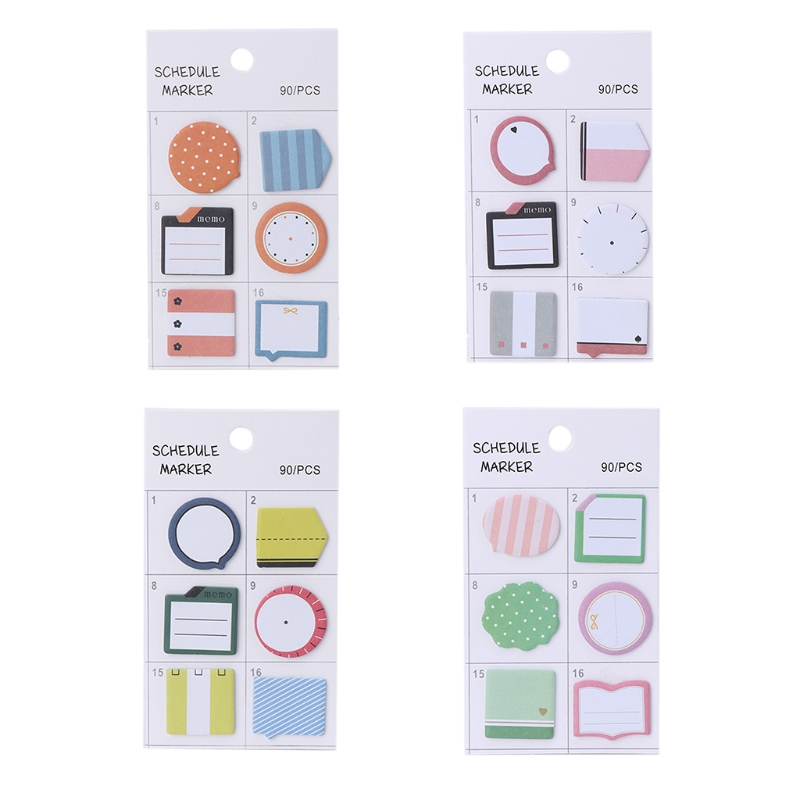 Creative Index Flag Tab Notes Sticky Stickers Post It Bookmark Marker Memo Pads W30