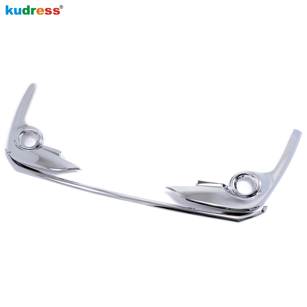 For Toyota Sienta <font><b>2016</b></font> 2017 Second generation XP170 ABS front bumper cover decoration trim Bull bar material Chromium Styling image