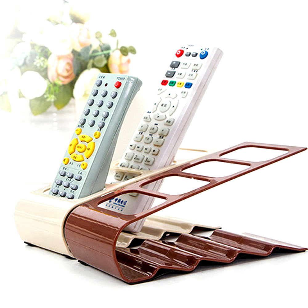 4 Frame TV/DVD Step Remote Control Storage Mobile Phone Holder Stand Organiser  Home Accessories mobile phone