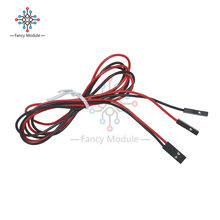 2 Pcs 2Pin 70 Cm Set Kabel Female-Female Jumper Kawat UNTUK ARDUINO 3D Printer RepRap(China)