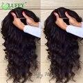 Peruca Base De seda Virgem Brasileiro Do Cabelo Sem Cola Top De Seda Cheia Do Laço Perucas de Cabelo humano Para As Mulheres Negras Solto Onda Profunda Front Lace perucas