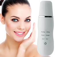 Deeply Ultrasonic Face Skin Pore Cleaner Device Blackhead Removal Device Peeling Shovel Exfoliator Deeply Clean The