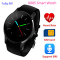 The new fashion K88S Bluetooth smart watch card SIM card phone heart rate monitoring smart watches