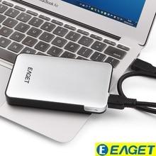 Eaget G30 Внешние запоминающие устройства 1 ТБ высокое Скорость 2.5 «HDD USB 3.0 рабочего ноутбука 1 ТБ жесткий диск 1 ТБ внешний жесткий диск