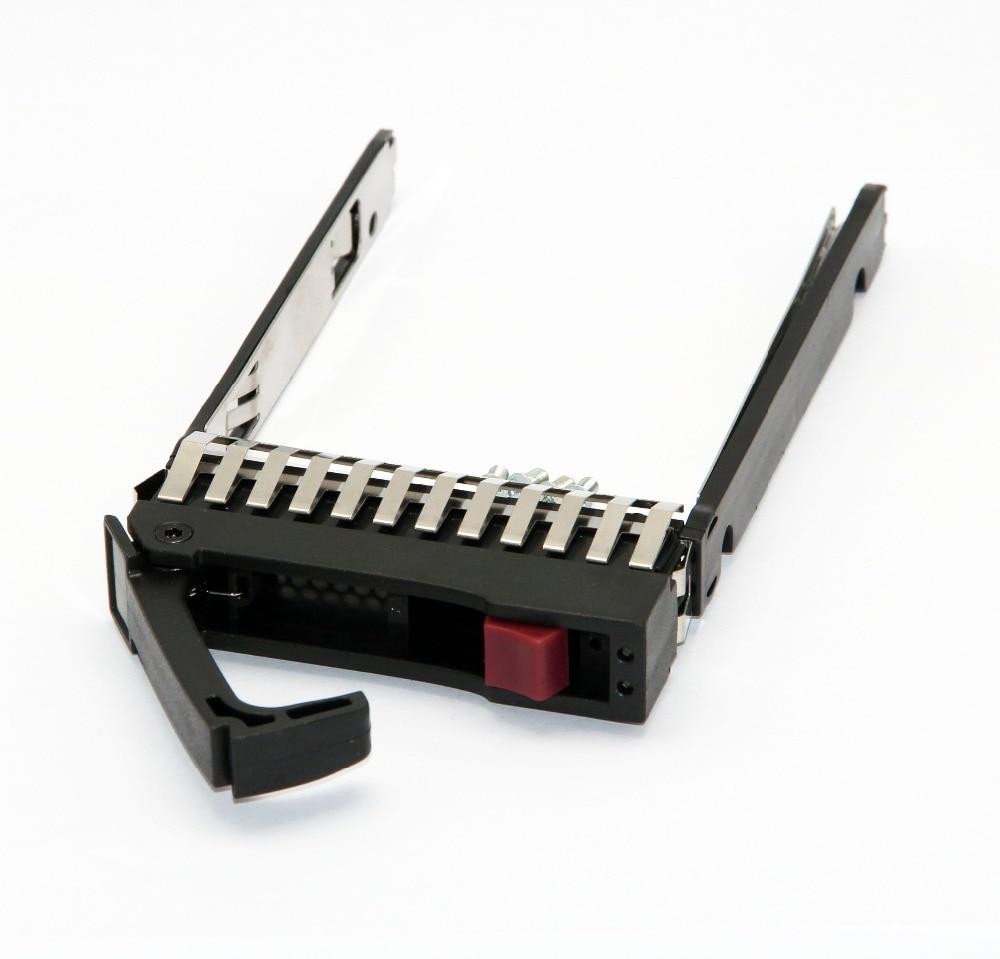 HP Black With Silver 2.5 Caddy Tray For Proliant DL380 DL360 DL385 ML370 ML350 500223-001