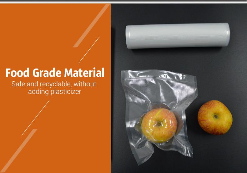 Rouleau de sac pour emballage sous vide : 12 * 500 Cm