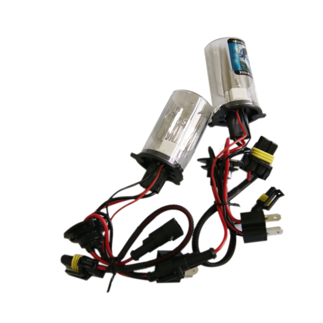 Tonewan Double Light 12V 35W <font><b>H4</b></font>-2 <font><b>Xenon</b></font> Fog Tail Turn DRL Head <font><b>Bulb</b></font> <font><b>HID</b></font> image