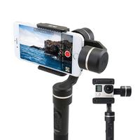 SPG Gimbal 3 Axis Smartphone Gimbal Stabilizer Sliding Arm Splash Proof For IPhone X 8 7