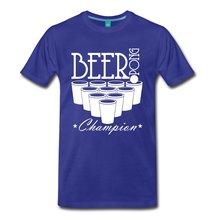 BEER PONG CHAMP Men's T-Shirt