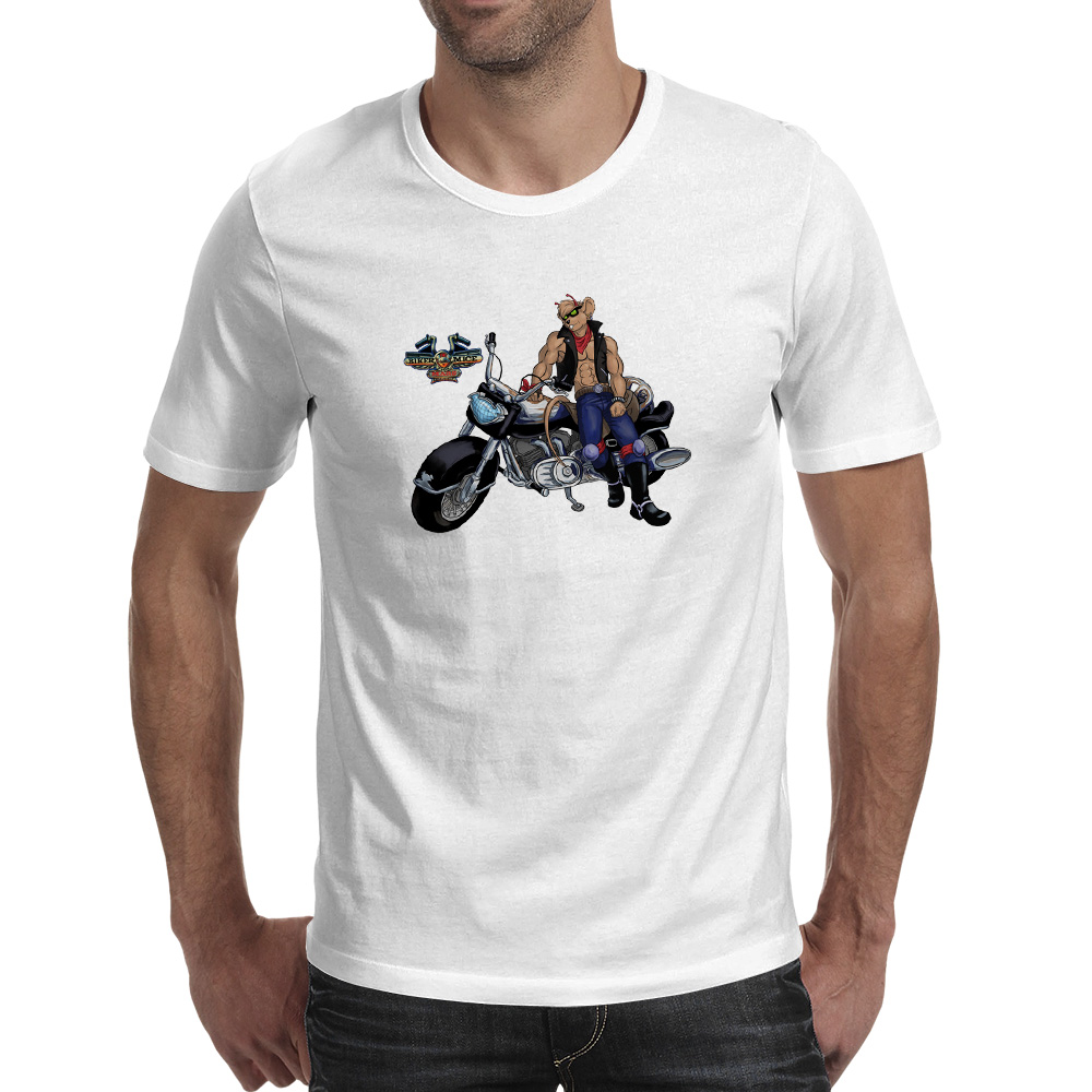 Biker Mice From Mars T-shirt 80s 70s Cartoon Casual Pop Fashion T Shirt Funny Style Cool Women Men Top