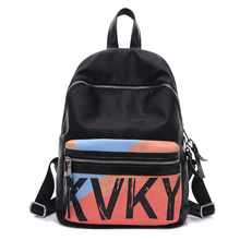 2016 Женщин уличная мода дамы досуг Повседневная Водонепроницаемый рюкзак девушка школьный нейлон Оксфорд мешок ткани