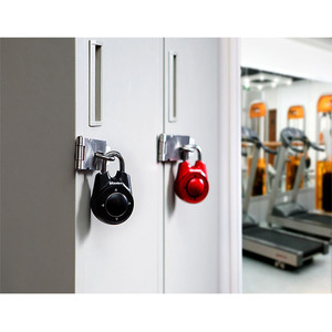 Image 4 - Master Lock Portable Assorted Colors Gym School Health Club Combination Password Directional Padlock Locker Door Lock 5 Color