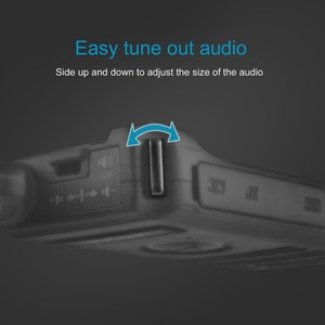 Image 4 - SOCOTRAN SC 600 UHF mini walkie talkie Amateur Radio 400 470MHz Ultra slim two way radio double PTT breathing light