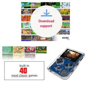 Image 2 - Coolbaby consola de juegos Retro portátil de 32 bits, Mini consola de juegos portátil con 169 juegos clásicos de GBA, juguete para niños