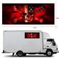 167x 58cm Skull Graphics Vinyl Car Wrap Truck Hunter Car Roof Hood Boat Decoration Decal Sticker 1 Piece