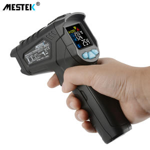 MESTEK Digital Thermometers Alarm Temperature-Gun Non-Contact-Laser Infrarojo