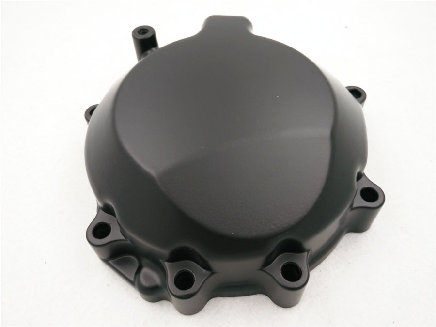 Aftermarket free shipping motorcycle parts Engine Stator Cover For 2006-2007 Kawasaki ZX-10R Crankcase Left Black aftermarket free shipping motorcycle parts engine stator cover for honda cbr1000rr 2006 2007 06 07 black left side