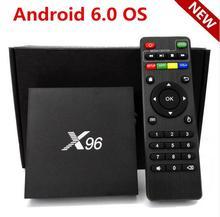 2016 X96 Android 6.0 TV Box Amlogic S905X Quad Core 2GB/16GB 1GB/8GB Kodi 16.1 WIFI HDMI 2.0A 4K*2K Smart Media Player Miracast