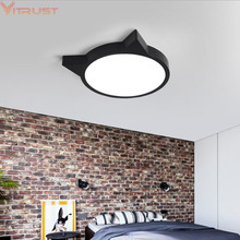 Modern Ceiling lights LED Cartoon ceiling lamp decoration study bedroom Nordic lighting fixture Boys Girls Children Kids Lamps decoration aisle bedroom ceiling lamps children toy modern children s room warm bed garden of new chinese cartoon ceiling lamps