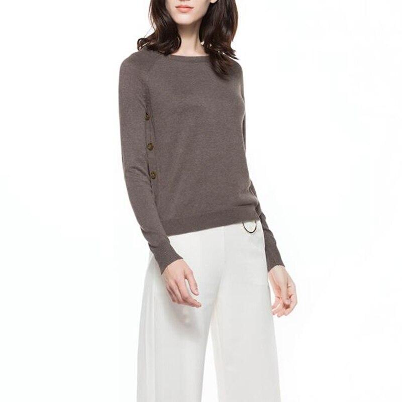 Knitbest'' 2017 Primavera Otoño Camisas Del Suéter de Las Mujeres Jumper Géneros