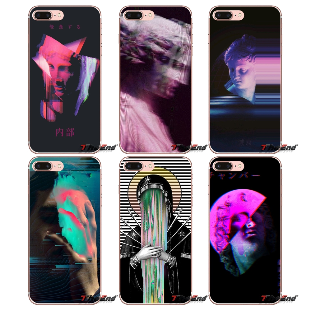 US $0 99  abstract cyberpunk eyes glitch LSD Case For Samsung Galaxy S2 S3  S4 S5 MINI S6 S7 edge S8 Plus Note 2 3 4 5 Grand Core Prime-in Half-wrapped