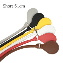 New Short Concise Round Leather Belt Handle with D Buckle Drops for Classic Mini Obag Basket Bucket O City Chic Handbag O Bag цены онлайн