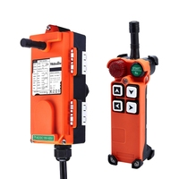 F21 4S Include 1 Transmitter And 1 Receiver 4 Channels1 Speed Hoist Industrial Wireless Crane Radio