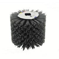 Inner Diameter Cross Shape Abrasive Wire Grinding Flower Head Polishing Brush Grinding Tool Accessories Free Shipping