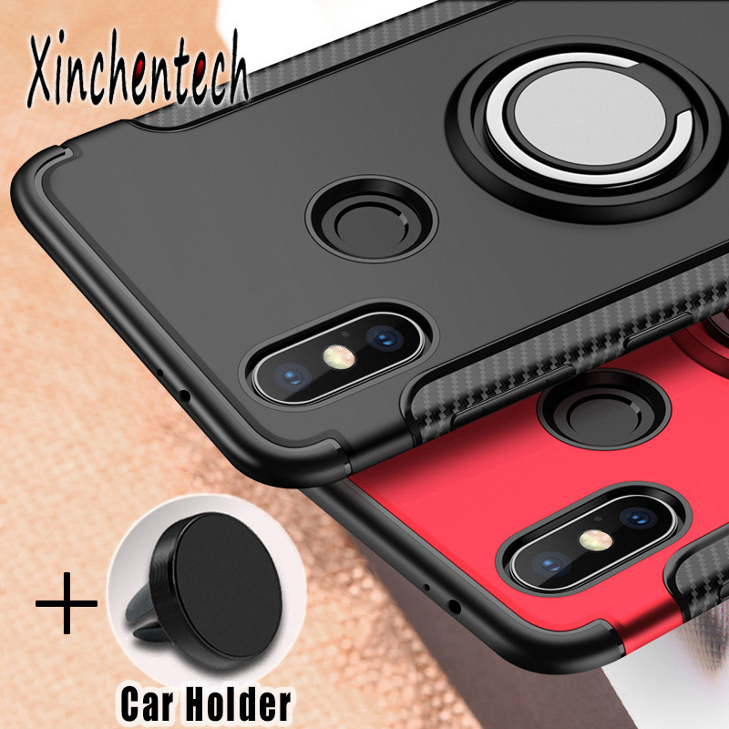 Shockproof Armor <font><b>Case</b></font> For Xiaomi Redmi 7 S2 5 Plus K20 Note <font><b>8</b></font> Pro <font><b>Silicone</b></font> TPU+PC Back Cover On <font><b>Xiomi</b></font> <font><b>Mi</b></font> A1 A2 <font><b>Lite</b></font> <font><b>Mi</b></font> 9 SE 9T image