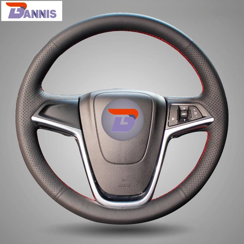 Buick Excelle XT GT Encore Opel Mokka üçün BANNIS Qara Süni Dəri - Avtomobil daxili aksesuarları - Fotoqrafiya 1