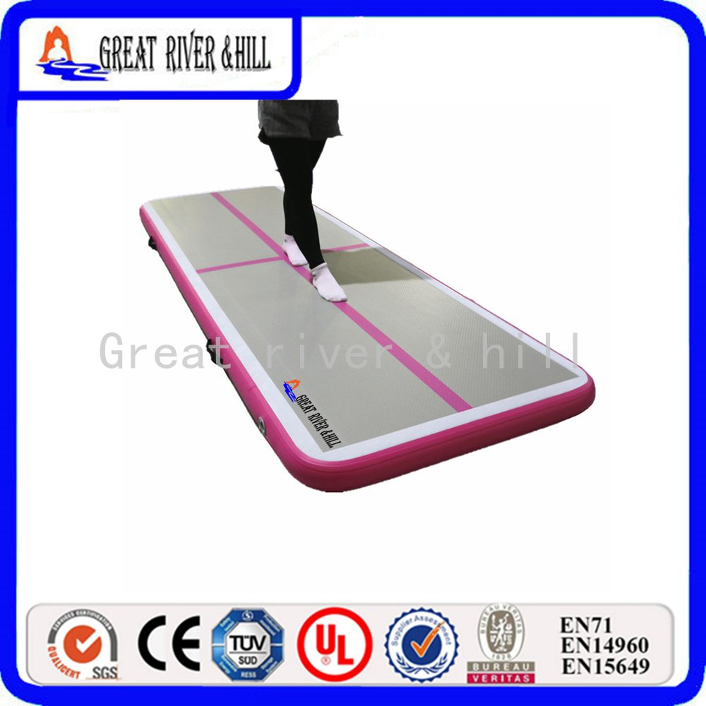 Directly Sale Cheap Air Track Mat Gymnastics Landing Mats For Sale 3m x1m x10cm