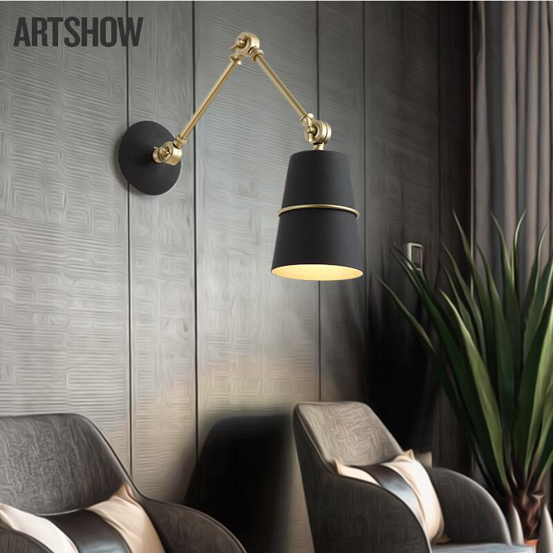 Expressive Cloth Table Lamp Golden Ameican Simple Warm Creative Retro Loft American Style Lighting For Home Bedroom Foyer Hotel Special Summer Sale Lights & Lighting