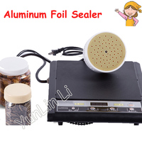 220V Aluminum Foil Bottle Sealing Machine Electromagnetic Induction Sealing Machine Cap Sealer With Seal Size 20