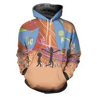 Rick and Morty Hoodies Men Funny 3D Sweatshirt Sudadera Hombre Casual Crewneck Pullovers Male Hooded Jacket Blouse Dropship