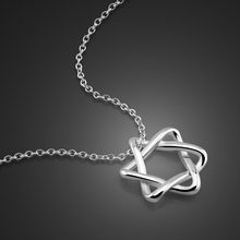 Bohemia Minimalism Small Star Pendant Necklaces For Women Ladies Silver decoration Chain Choker Necklace Women Pentagram Jewelry(China)