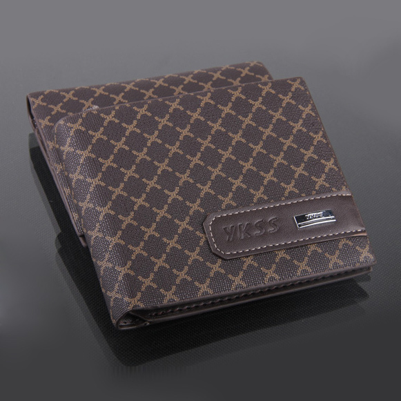 2018 Fashion New designer Quality brand leather X pattern men wallets , 2 colors 3 fold corss card holder purse wallet for men fashion top designer brand men wallets leather card holder clutch dollar price purse clips wallet for men 2 colors free shipping