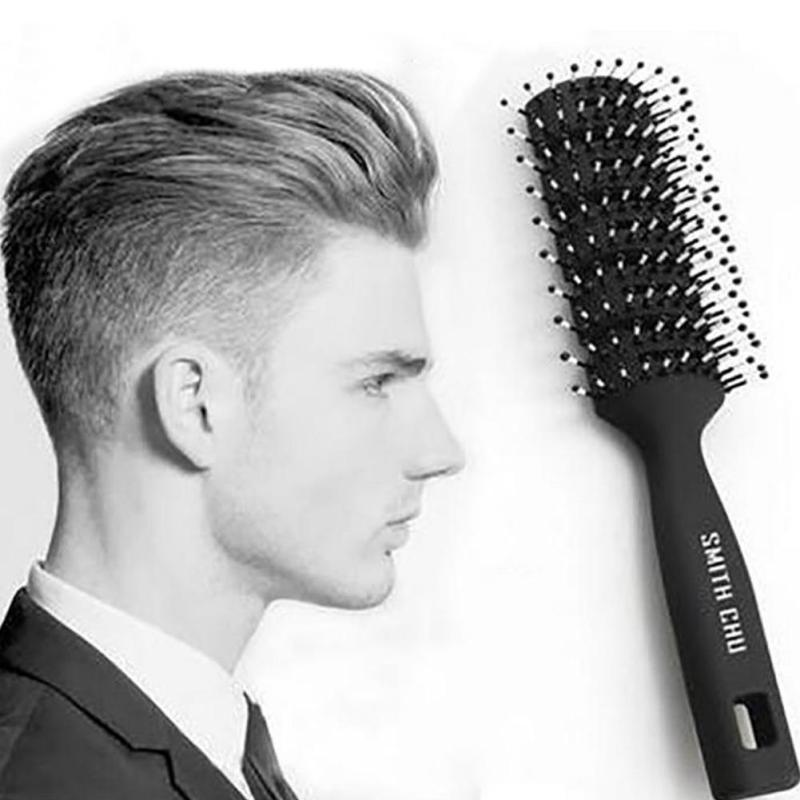 Hair Styling Brushes 1Pc Salon Hair Styling Brush Comb Hair Styling Men Antistatic Hair .