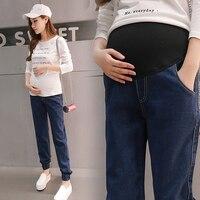 Maternity Jeans For Pregnant Women Spring Autumn Style Pregnancy Pants Denim Maternity Clothes Women Plus Size
