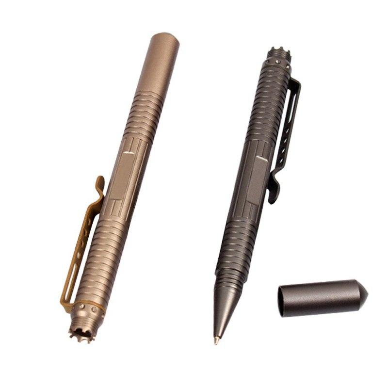 Открытый Портативный тактическая ручка Товары для самообороны Книги об оружии выживания защита авиации Алюминий multi Инструменты