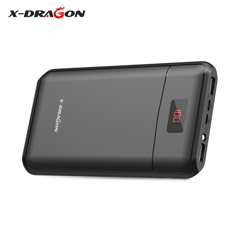 X-DRAGON Power Bank 13000mAh Portable Powerbank Backup Phone Battery for iPhone 4s 5 5s 6 6s 8 iPad Air mini Samsung LG HTC etc.