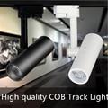 High quality COB LED track light 7W 10W 15W LED track spot light ceiling LED track spotlight LED track lamp AC85-265V