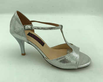 Comfortable and Fashional Argentina Tango Dance Shoes Party Shoes Wedding Shoes leather outsole T62103A-SL in 9cm heel